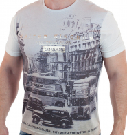 Мужская футболка London от торговой марки Max Youngmen.