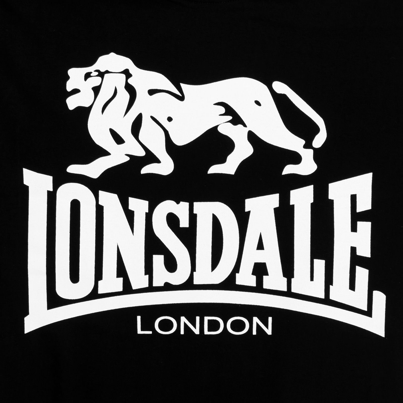 Футболка «Lonsdale» с принтом