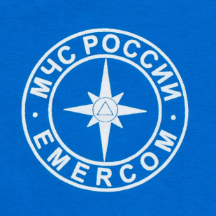Синяя футболка МЧС с доставкой