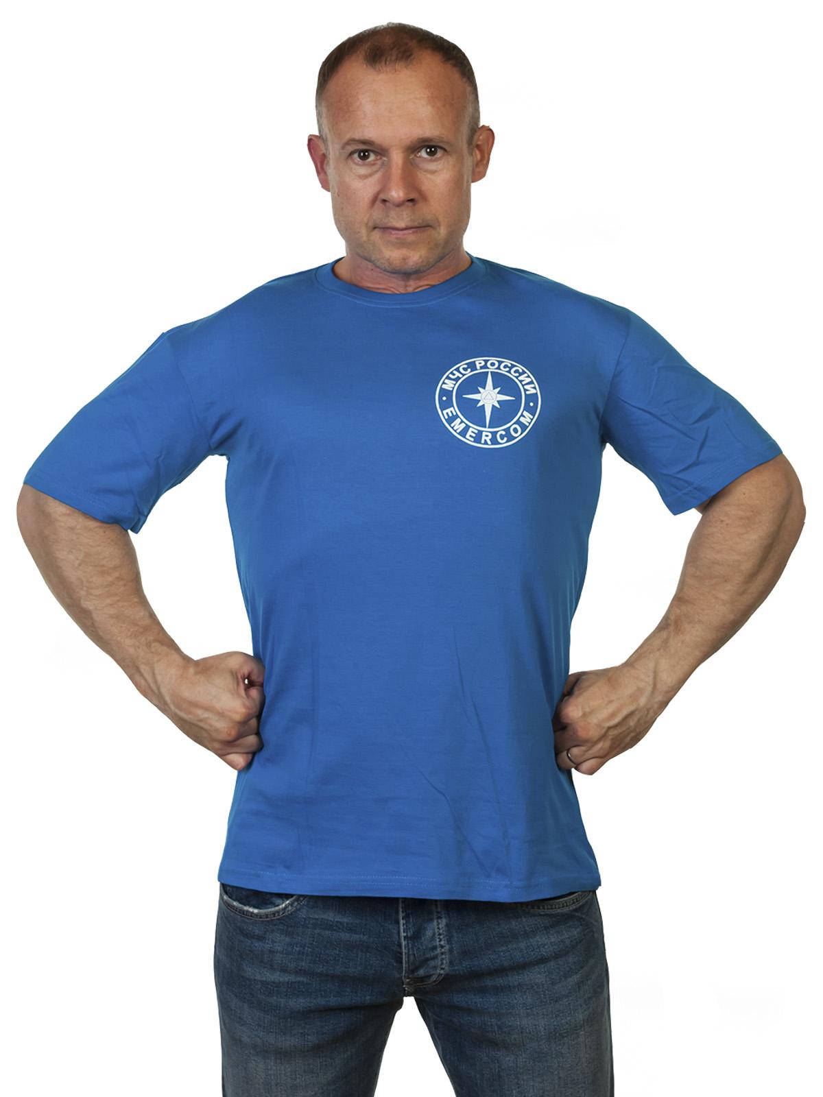 Хлопковая футболка ко Дню Спасателя