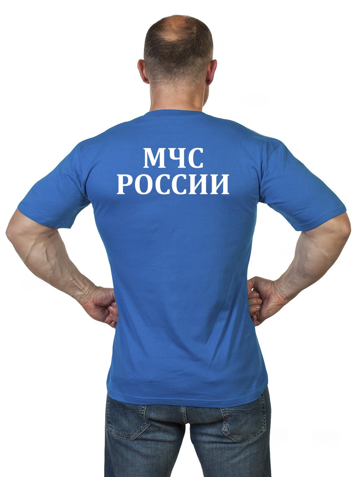 Мужская футболка подарок на День рождения МЧС