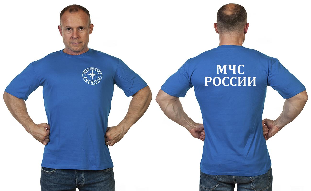 Заказать футболку МЧС России (уставная)