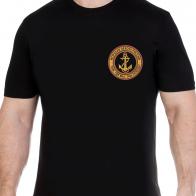 Футболка Морской пехоты с вышитой эмблемой