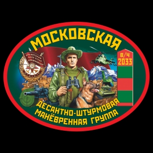 Мужская футболка Московская ДШМГ