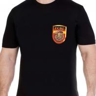 Футболка мужская черная с с эмблемой ГСВГ