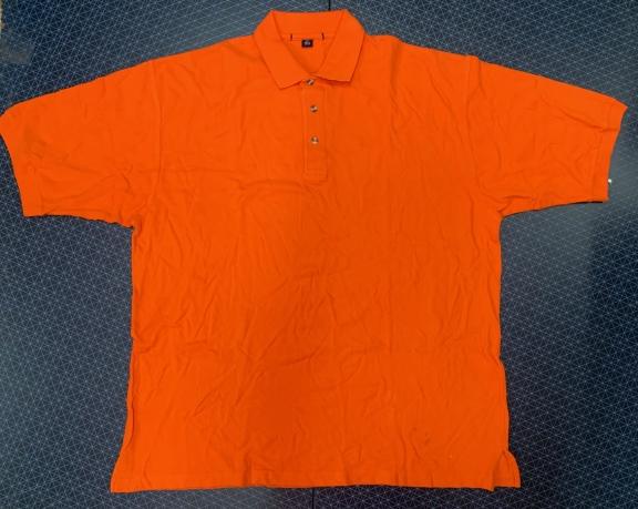 Футболка мужская оранжевая Port Authority