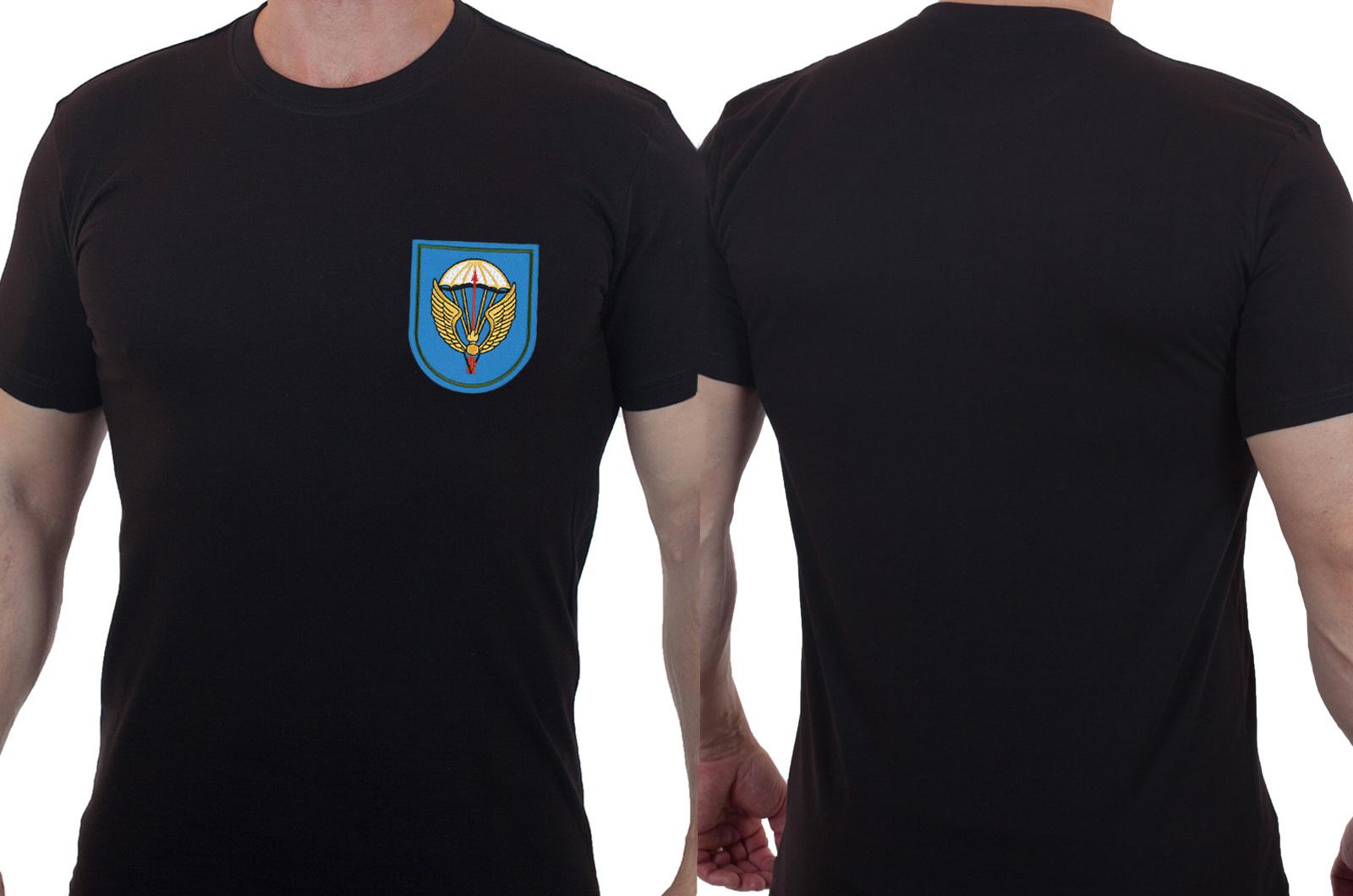 Футболка мужская с вышитым знаком ВДВ 31 ОДШБр - купить с доставкой