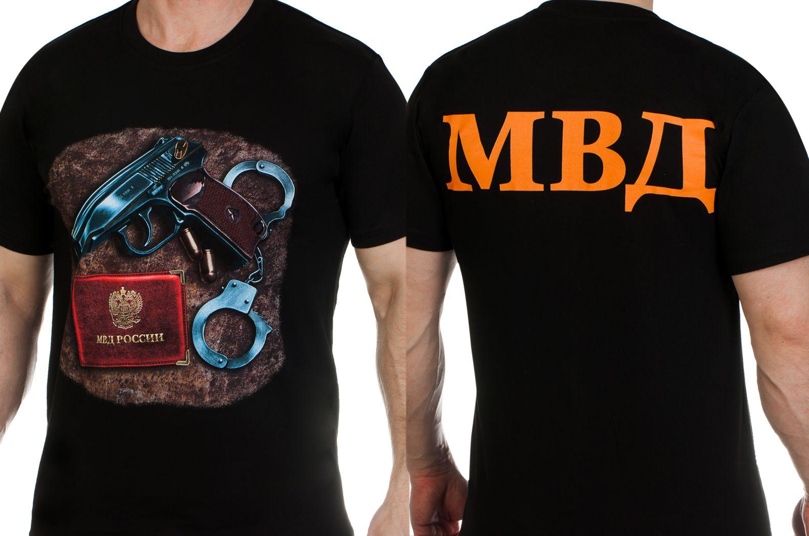 Заказать футболки «МВД России»