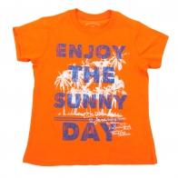 Яркая детская футболочка Becasin Kids. Гипоаллергенный хлопок и дизайн, который подходит и мальчикам, и девочкам. СЕЗОННЫЙ ОБВАЛ ЦЕН! Родители, сэкономить, не хотите ли?