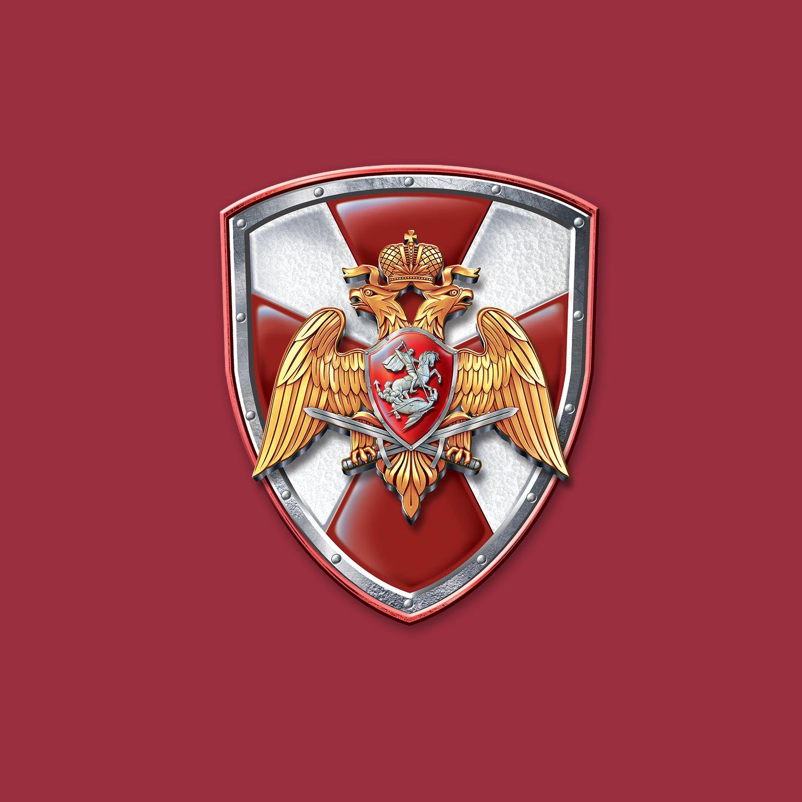"Футболка ""Нацгвардия России"" с логотипом"