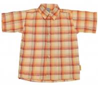 Яркая детская рубашка от бренда Little Rebels из натуральной ткани