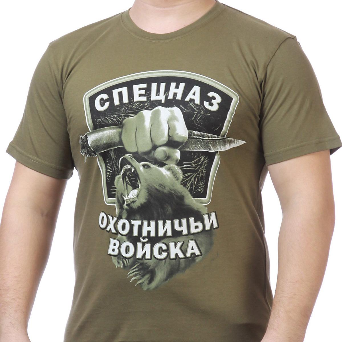 Мужская футболка с медведем