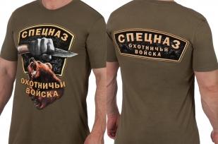 Заказать футболку охотника с принтом