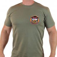 Хлопковая мужская футболка-олива «Я – МОРПЕХ!».