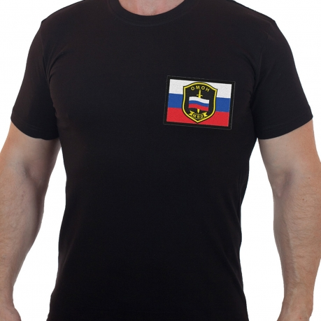 Мужская футболка ОМОН, МВД.