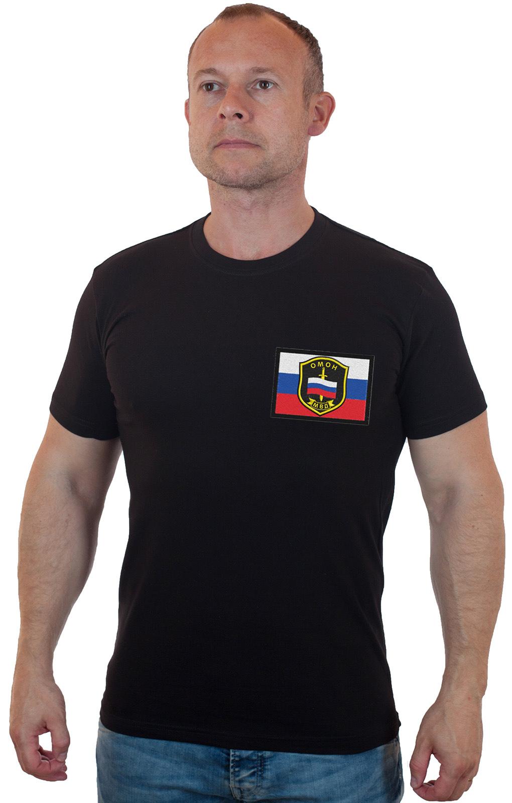 Купить в Москве футболку ОМОН