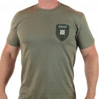 Мужская футболка с вышивкой ОПЛОТА: 4-й батальон Сварожичи.