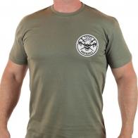 Армейская мужская футболка «Спецназ Оплота в Торезе»