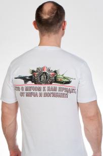 """Белая футболка """"Орден Невского"""" по выгодной цене"""