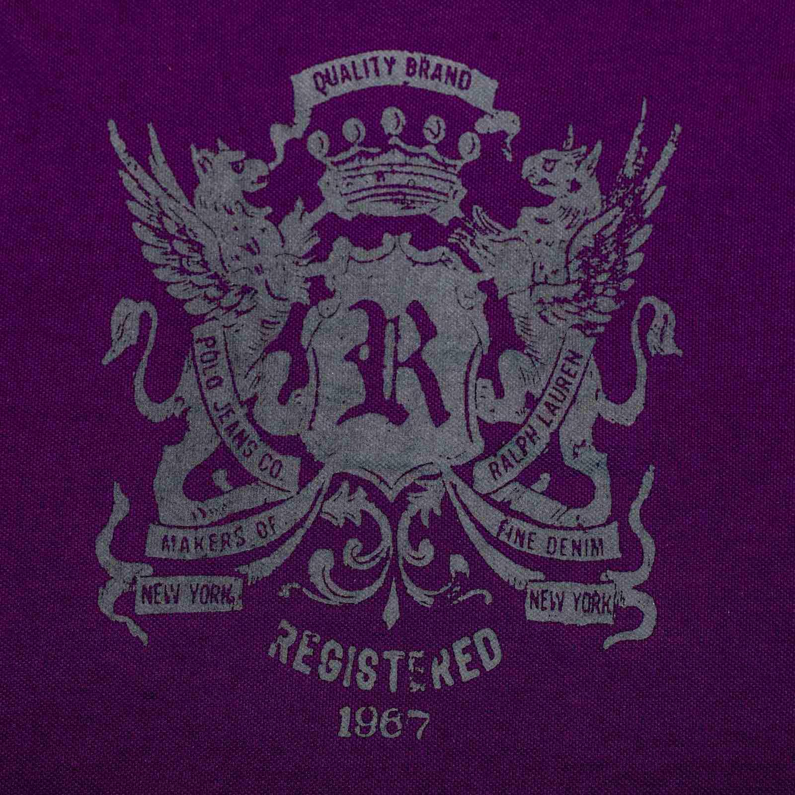 Футболка от модного брендат из США Ralph Lauren-принт