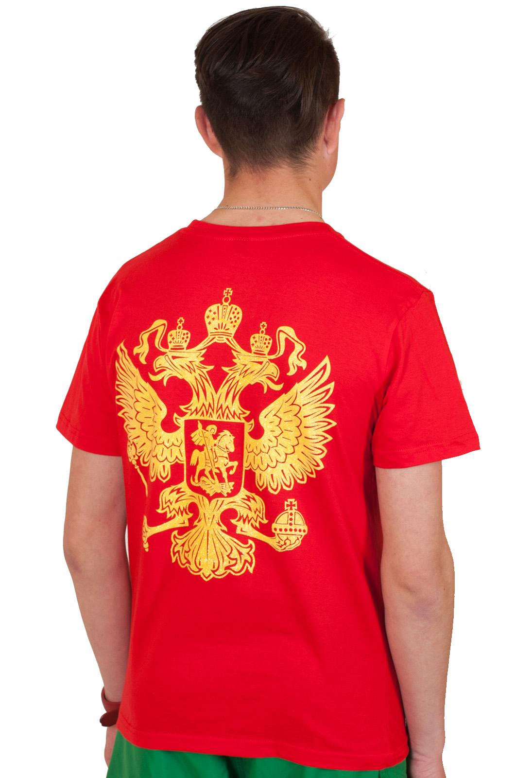 Купить красную футболку россия