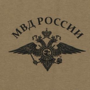 Футболка Полиции с гербом МВД с доставкой