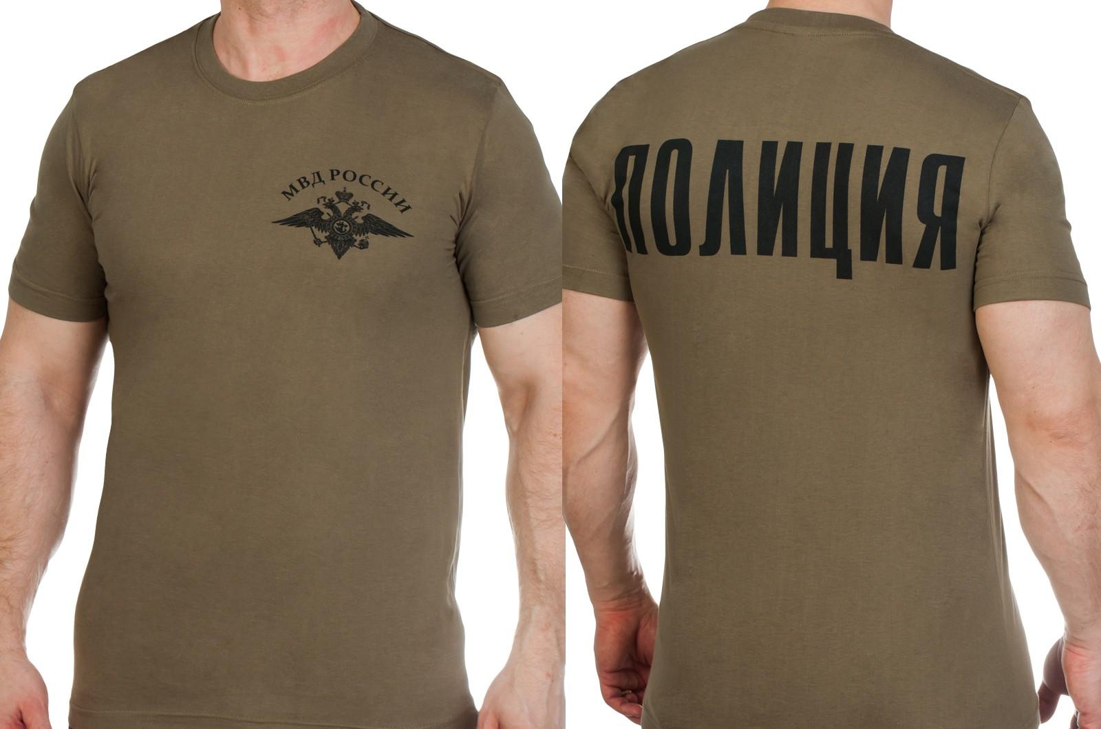 Заказать футболки Полиции с гербом МВД