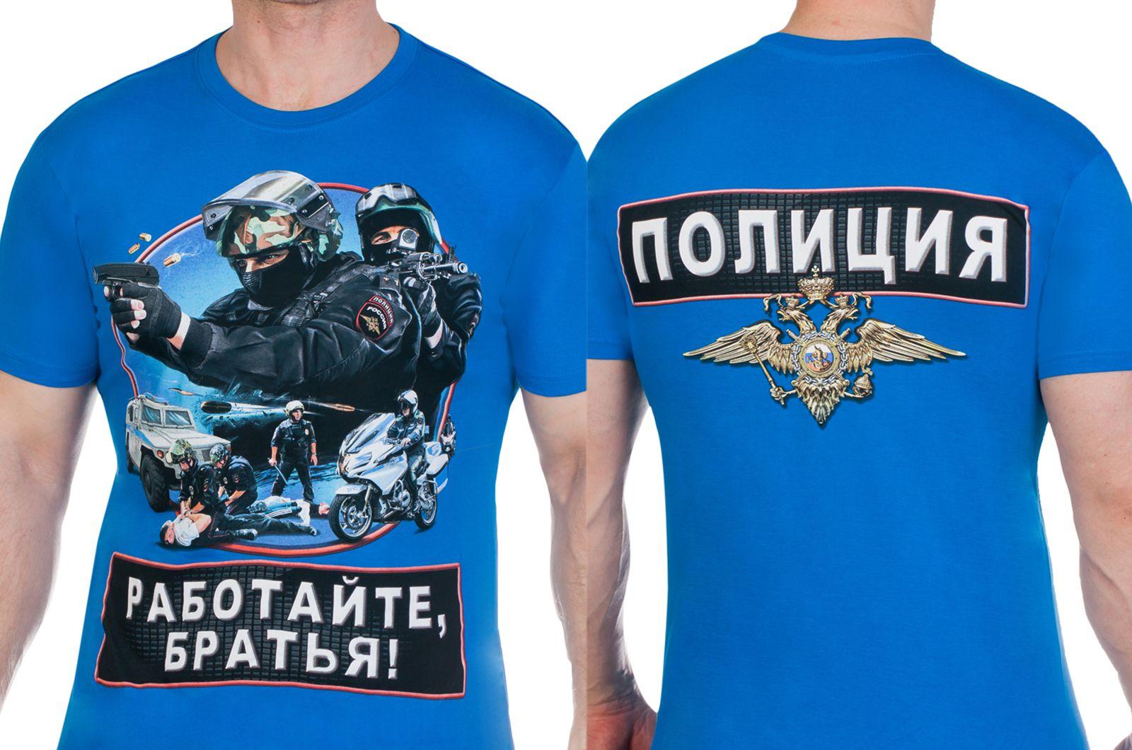 """Заказать футболку """"Полиция МВД"""""""