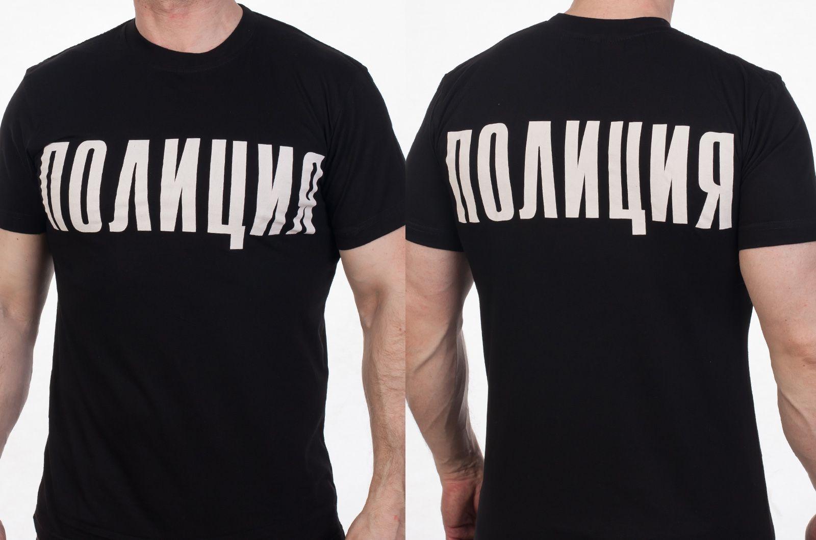 Футболка «Полиция» России - общий вид