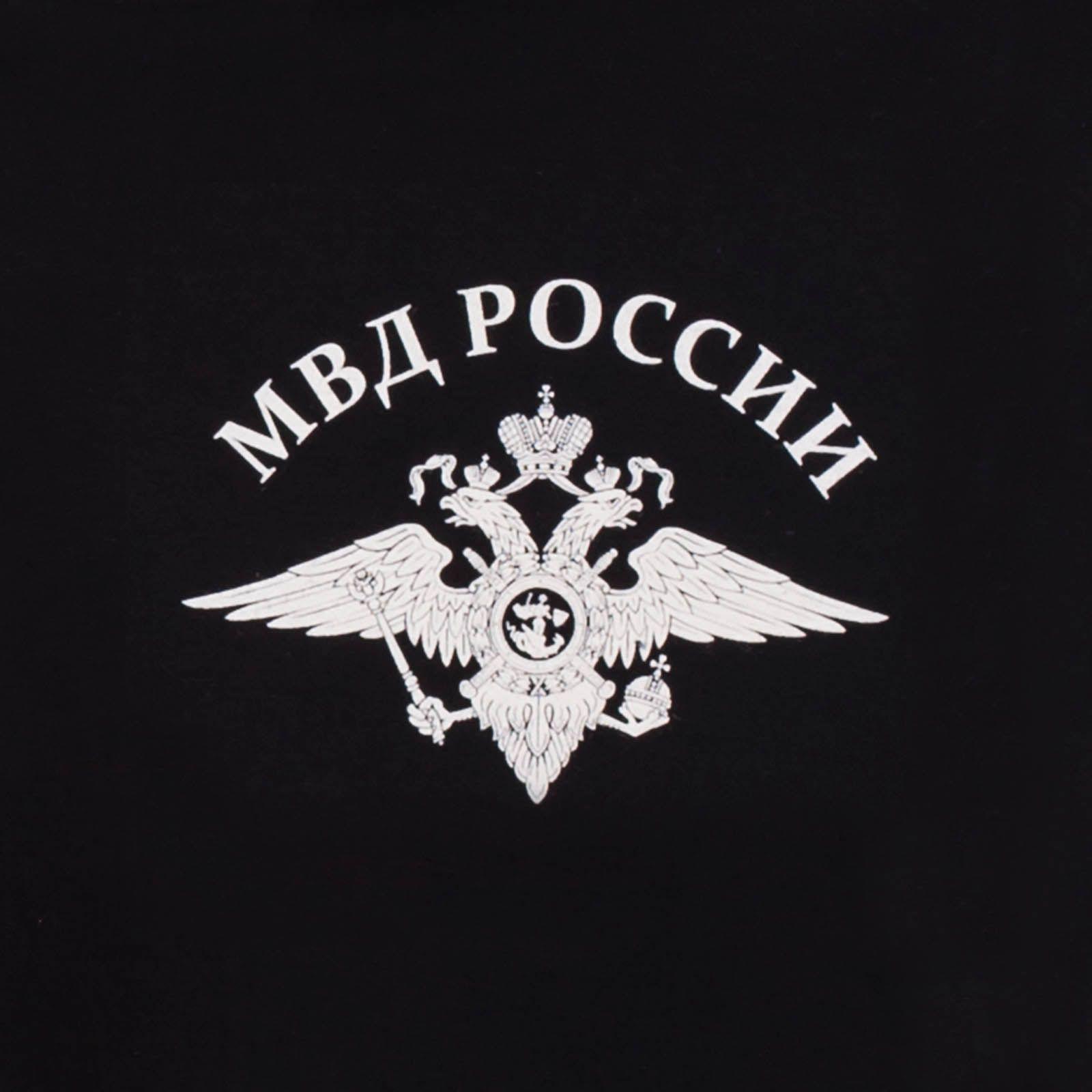 Футболка «Полиция МВД России» - принт