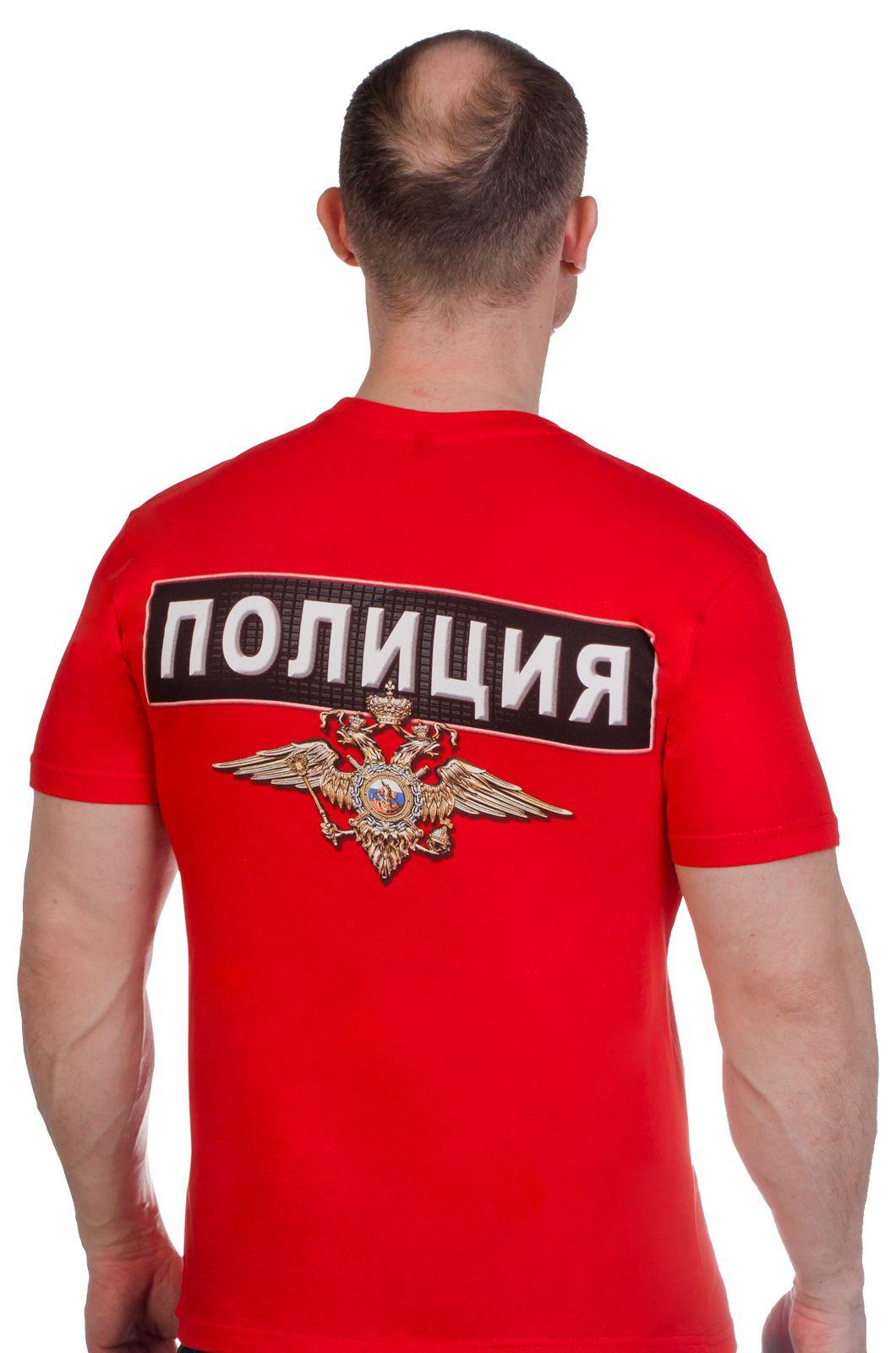 """Футболка """"Полиция России"""" по выгодной цене"""
