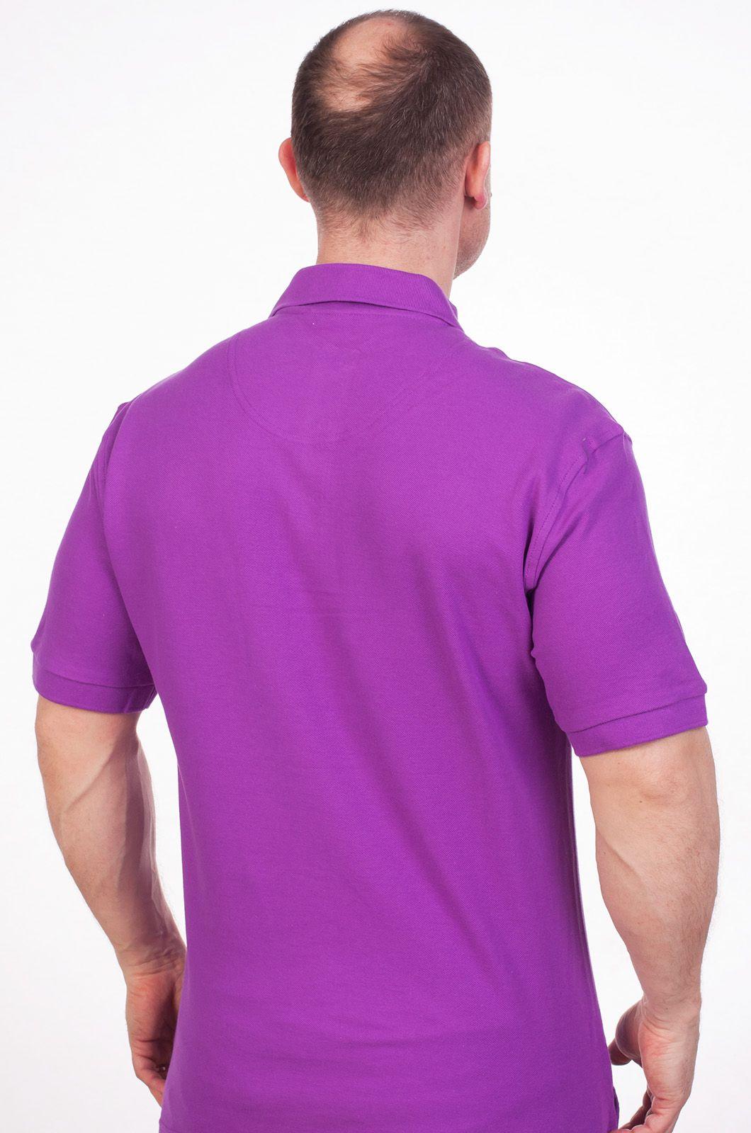 Футболка Поло фиолетовая