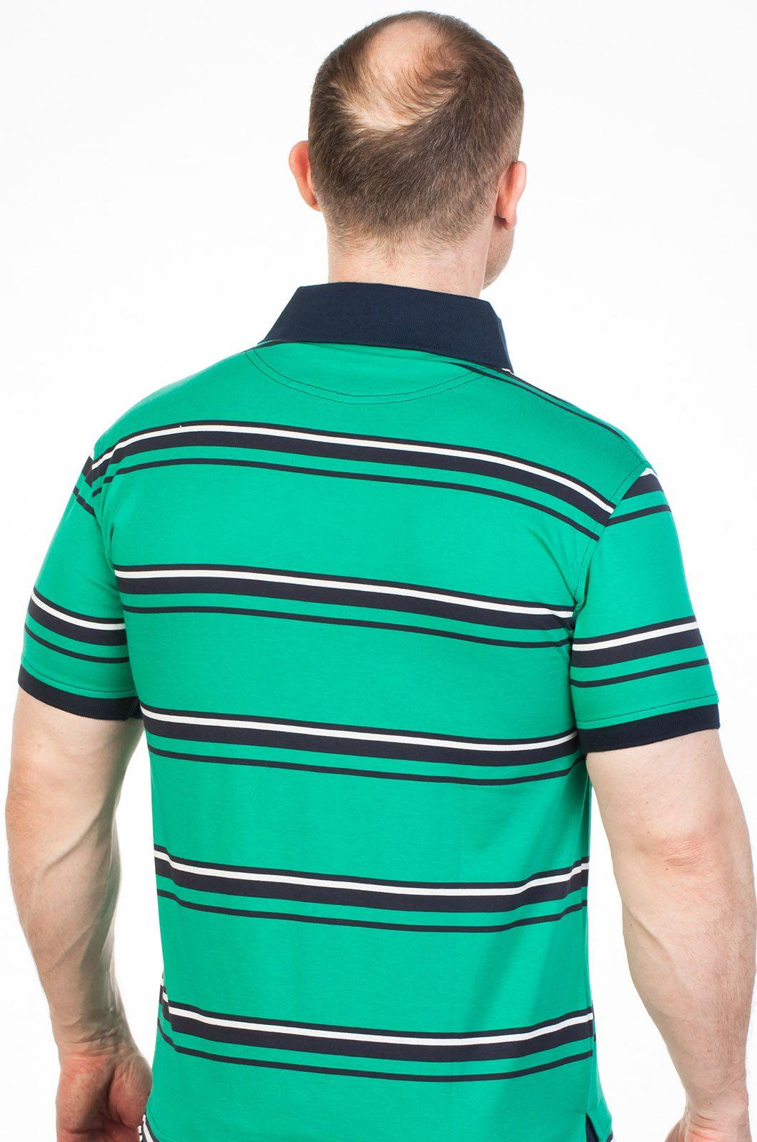 Футболка Поло зеленая в интернет-магазине