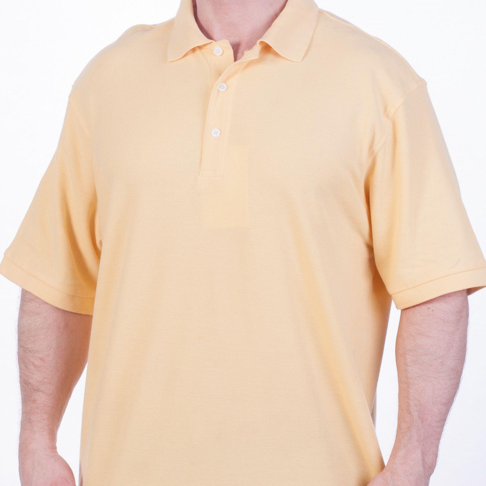 Футболка Поло желтая