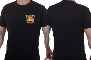 Мужская футболка с цветным принтом Танковые Войска.