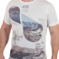 Крутая мужская футболка от бренда Max Youngmen.