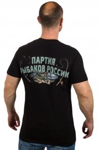 """Купить футболку """"Путин на рыбалке"""""""