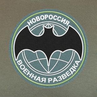 Военная футболка с шевроном Разведки Новороссии
