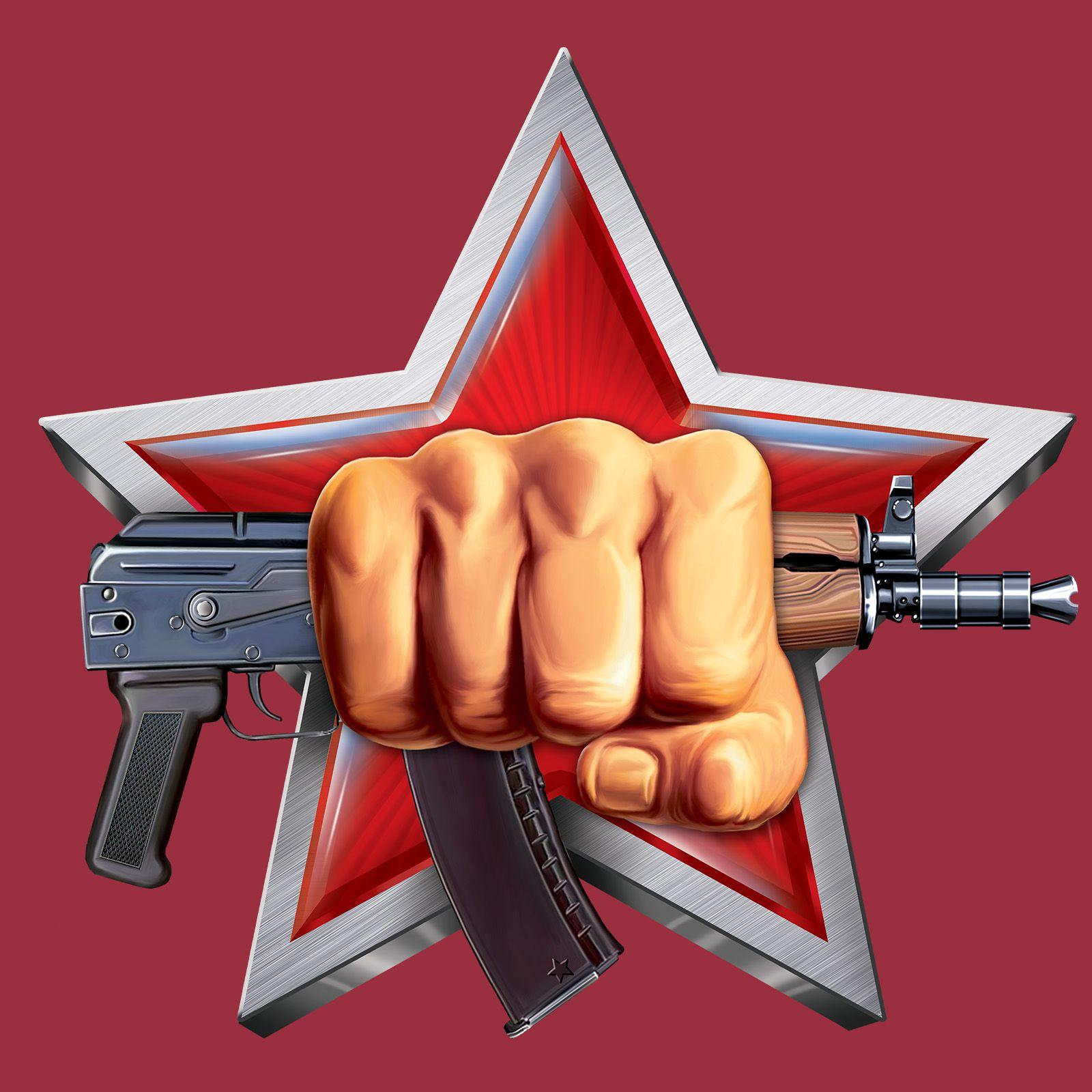 "Футболка Росгвардии ""Эмблема Спецназа"" с принтом"