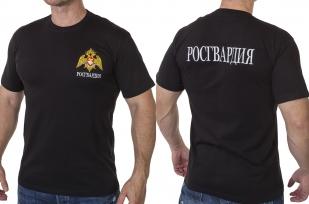 Заказать футболку Росгвардии с гербом