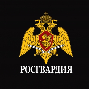 """Футболка """"Росгвардия"""" с вышивкой от Военпро"""