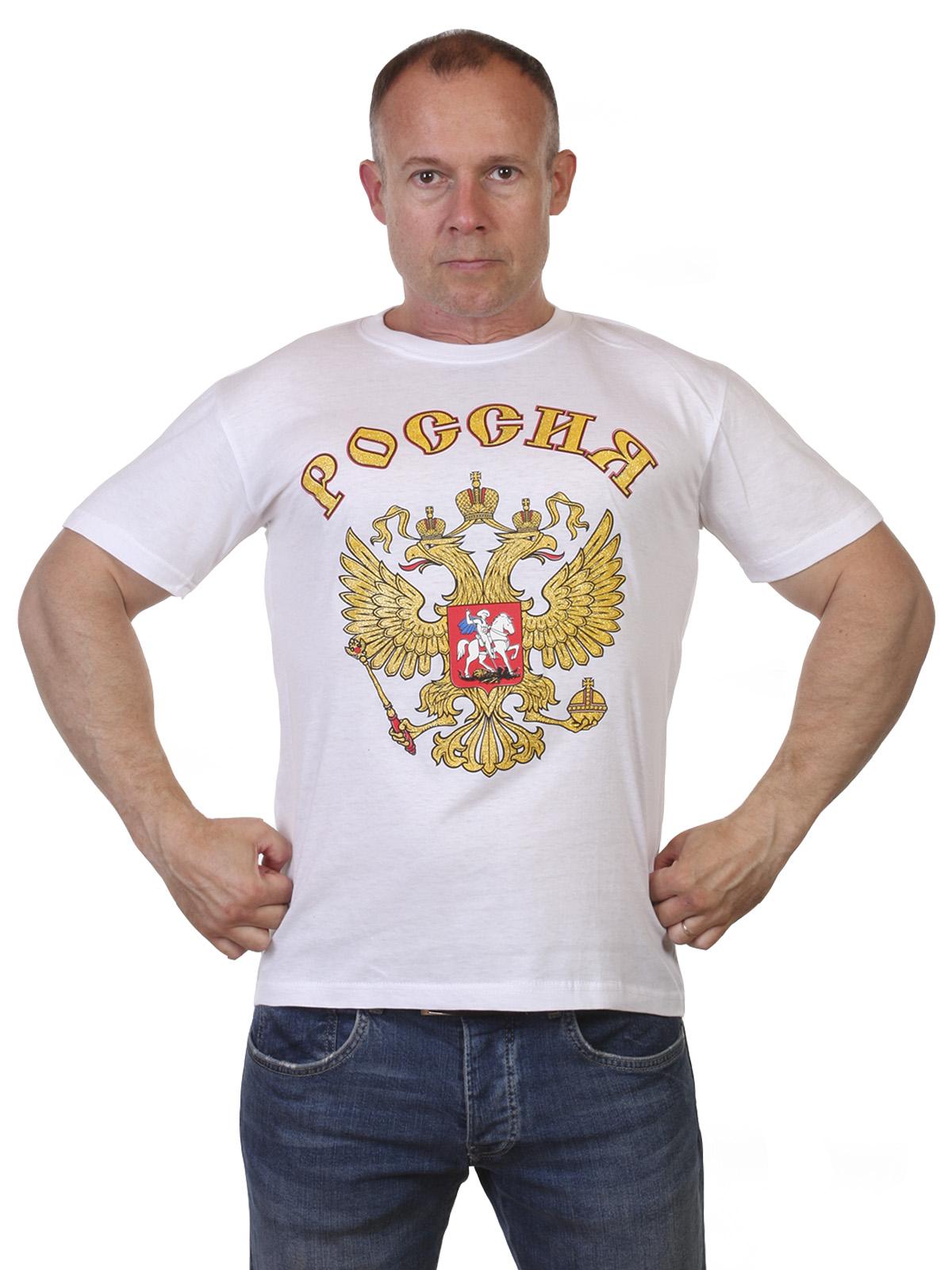 Купить футболку Россия