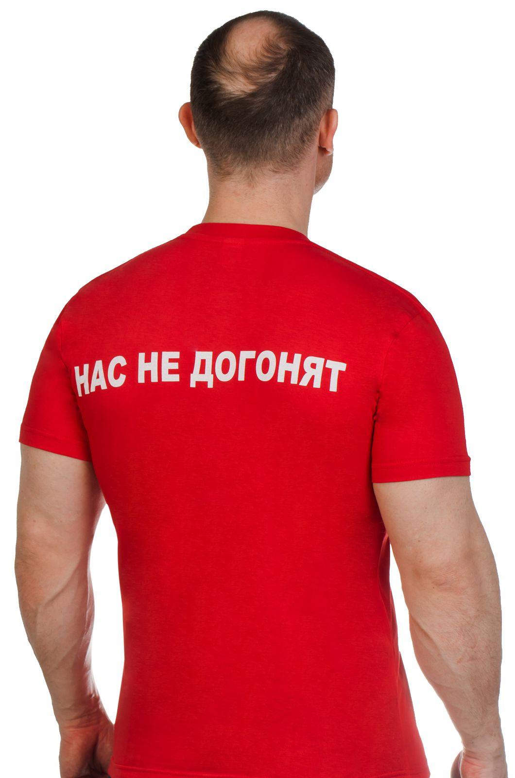Патриотическая футболка с фотографией Путина по выгодной цене