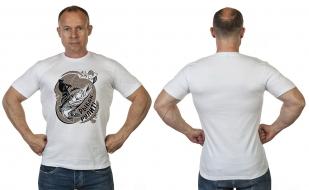 Мощная футболка рульных рыбаков от Военпро