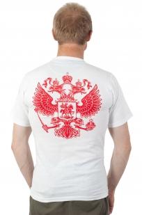 Футболка RUSSIA белая