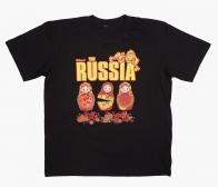 """Футболка """"Русские матрёшки"""""""