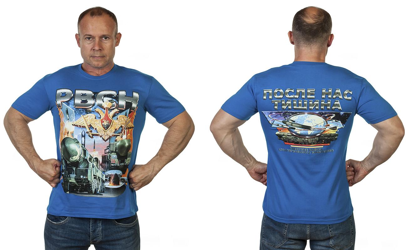 Заказать футболку РВСН с принтом