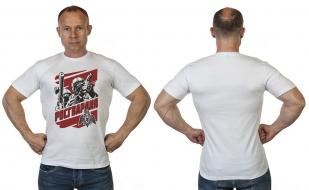 """Мужская футболка с достойным принтом """"Росгвардия"""" от Военпро"""