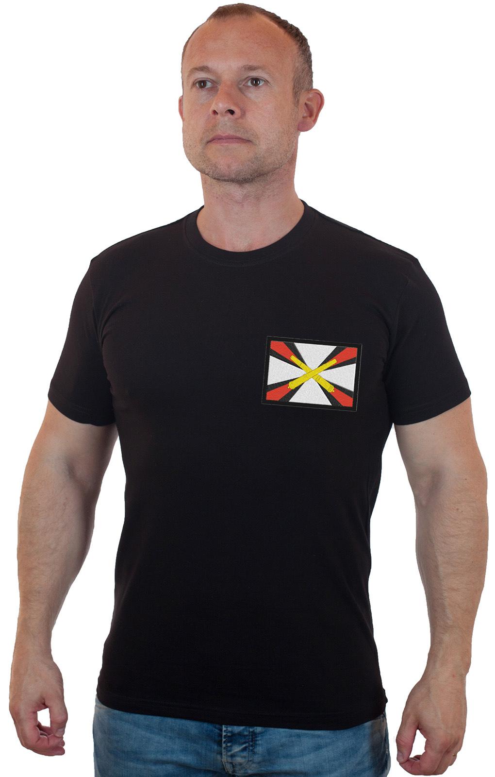 Мужские футболки с шевронами и нашивками РВиА