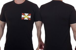 Уставная мужская футболка с эмблемой Артиллерии России